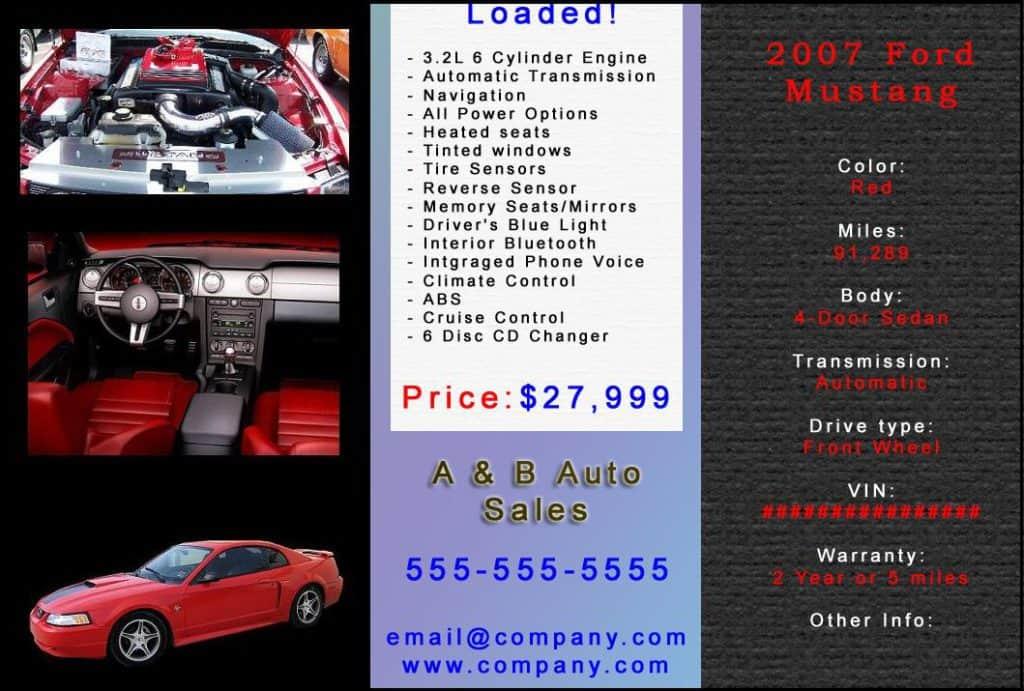 car ad image
