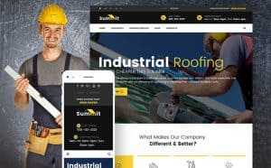 Construction Website Design Image