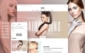 Fashion Website Design Image