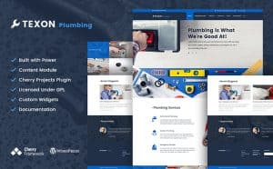 Plumbing Website Design Imaage