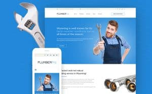 Plumbing Services Responsive WordPress Theme