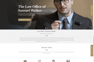 Law Firm Website Design 6/2018