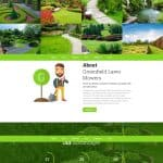 Landscaping website design image 5