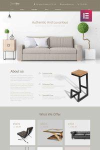 Interior website design image 1