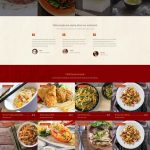 Restaurant website design image 9