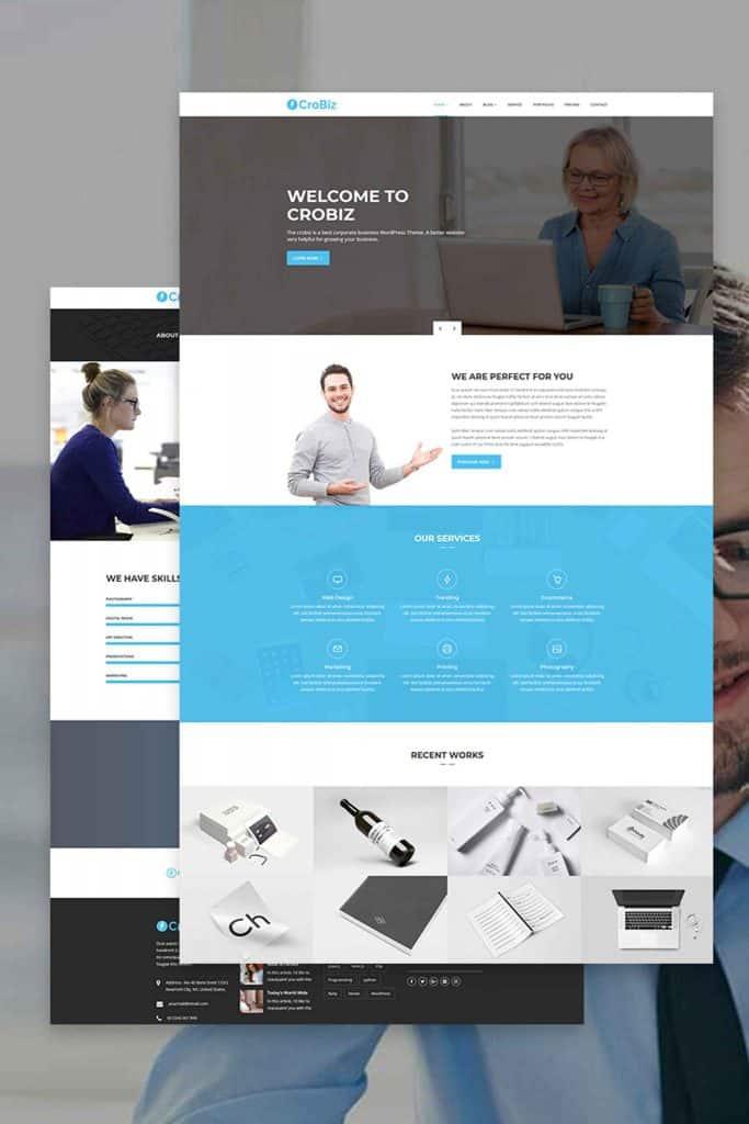 Agency website design image 6
