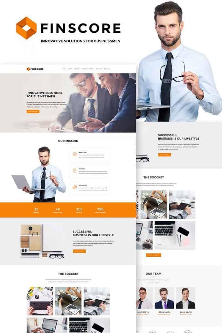Agency website design image 7