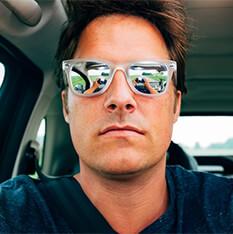 man in glasses