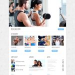 image of fitness website 5