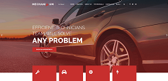 Auto repair website image