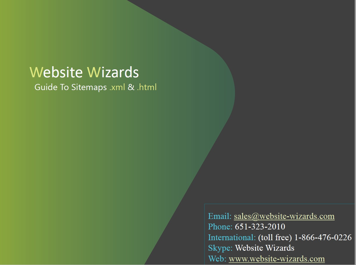 What Is A Website Sitemap