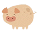 little piggy patterns logo
