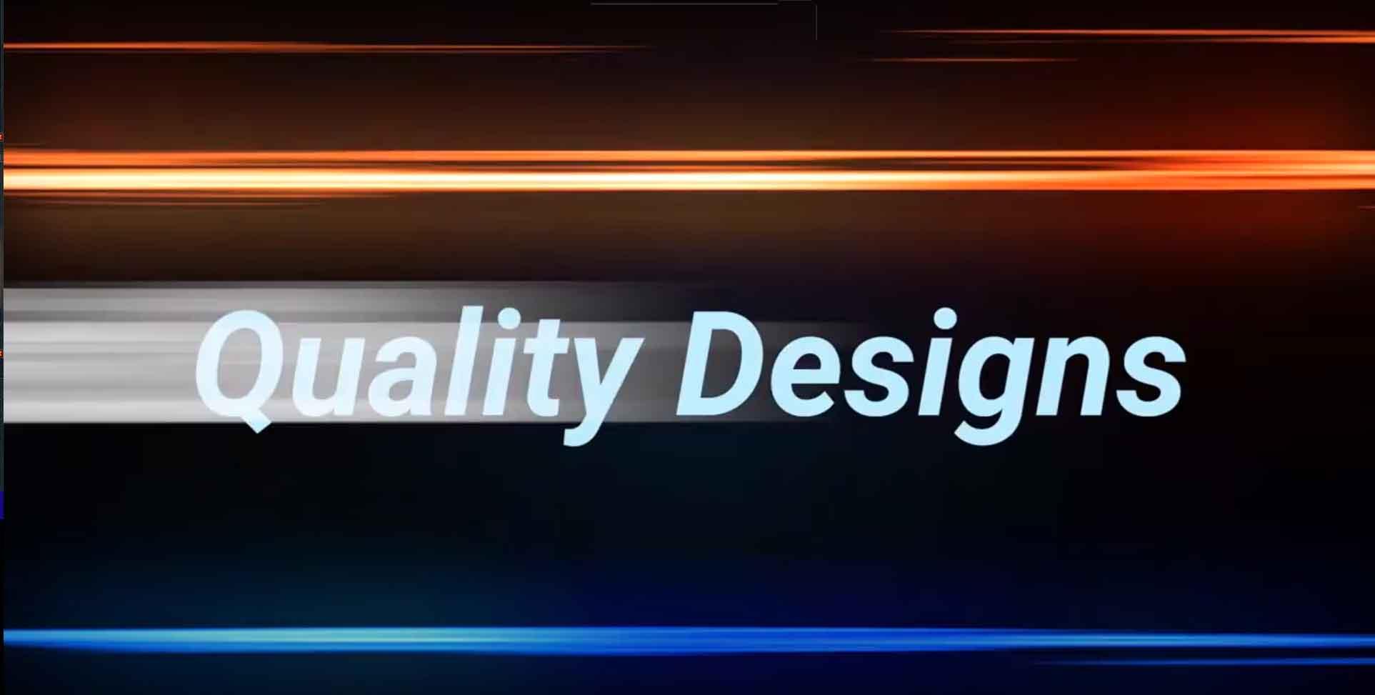 still image of website design video