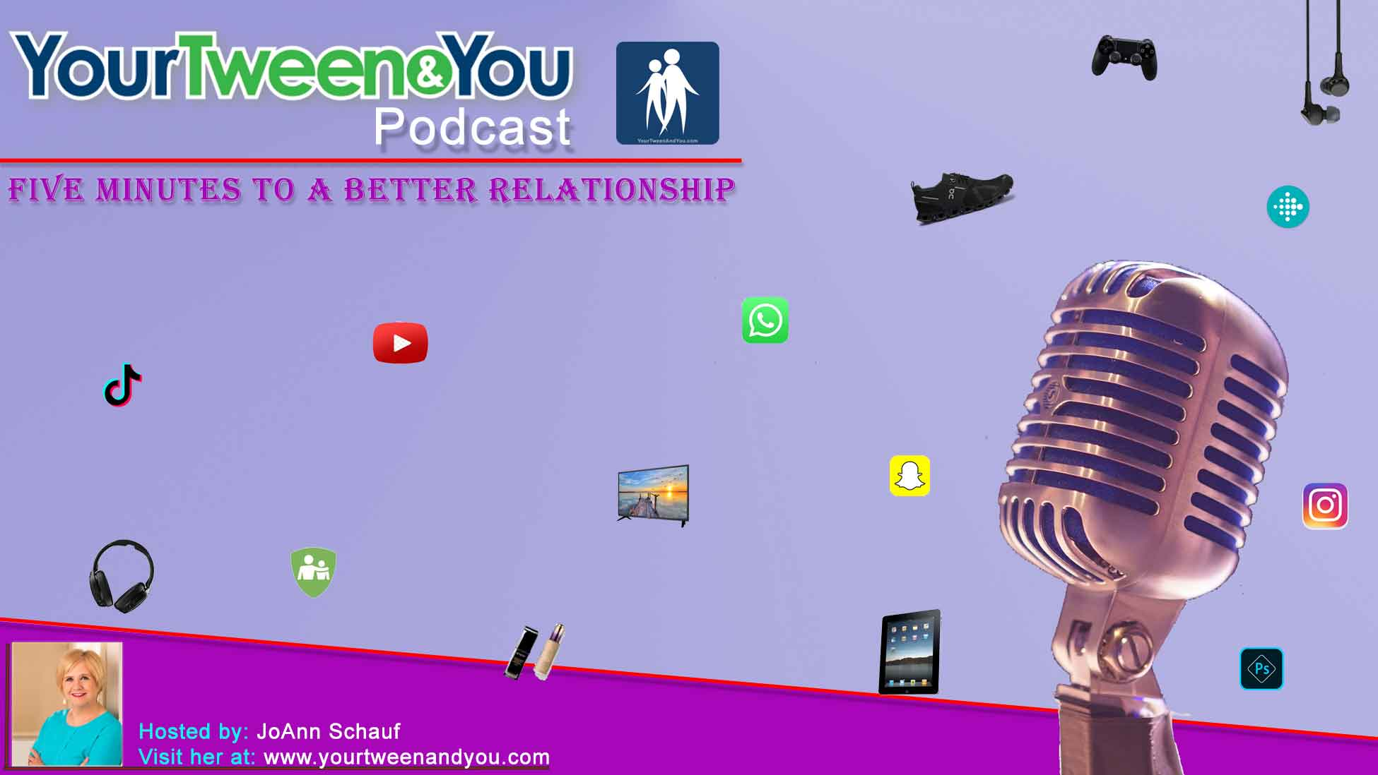 image design for podcast