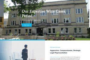 Minnesota Attorney Website Design