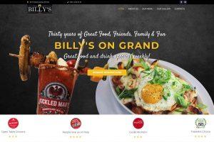 Minnesota Restaurant Website Design